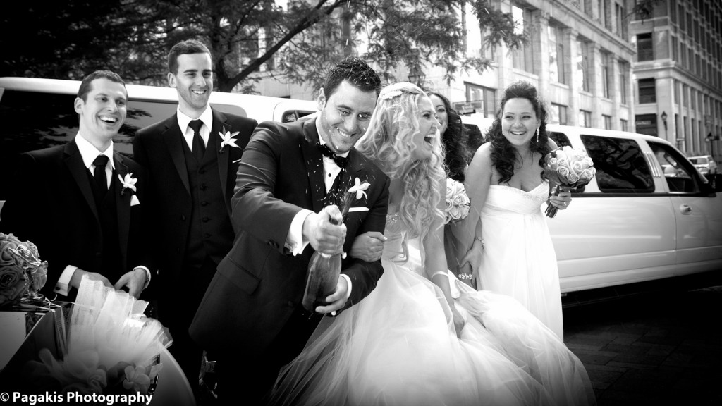 Montreal Weddings limousine