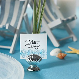 Montreal Weddings sea place card