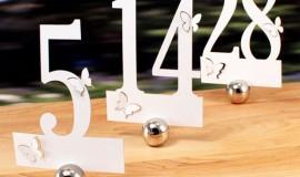 Décor-Mariage-Montréal-numéro de table