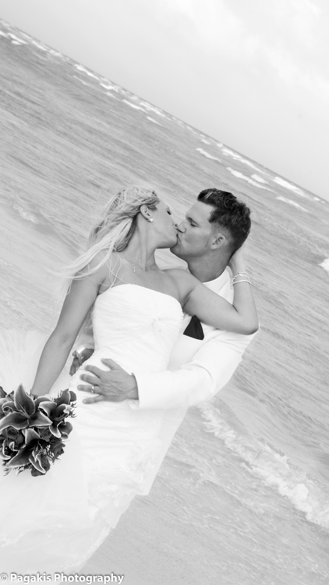 Mariage Montreal photo plage