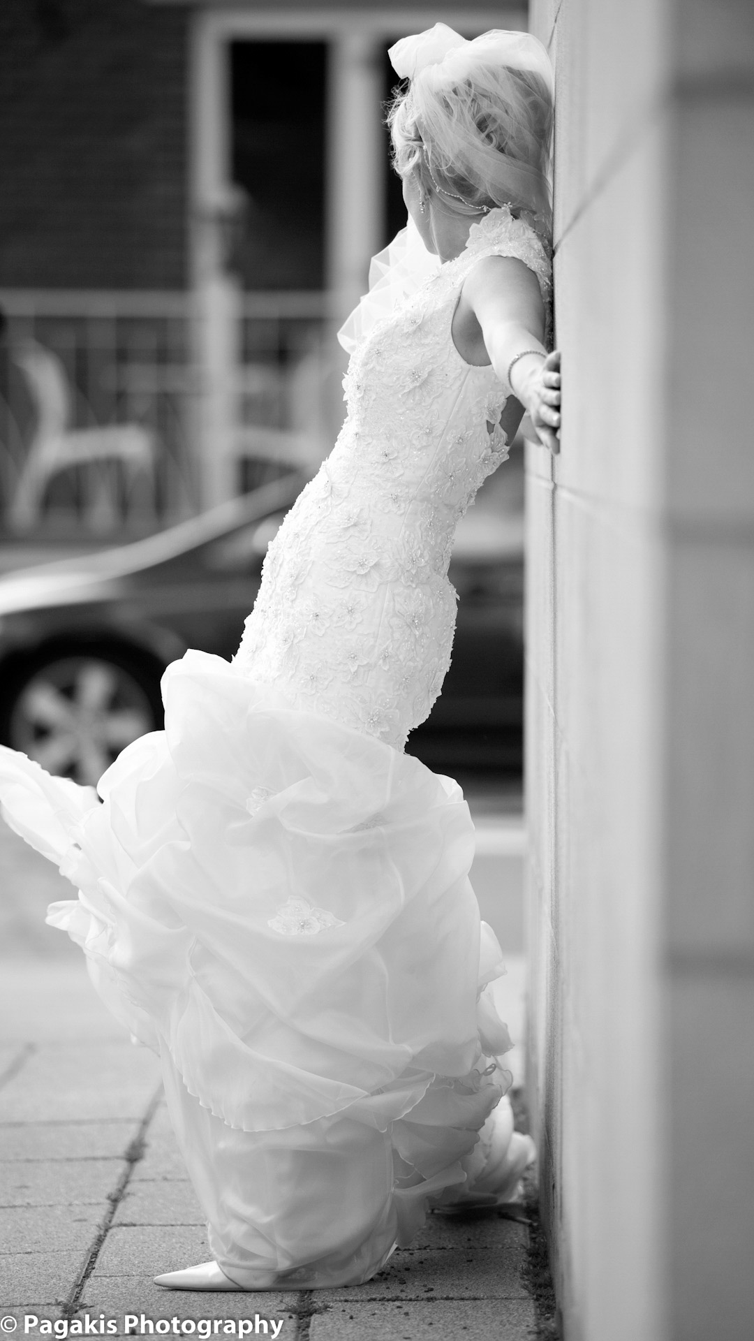 Mariage Montreal robe de mariee 2