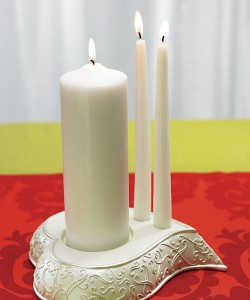 Montreal Weddings Heart Unity Candle