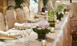 Salon Paris Wedding Head Table
